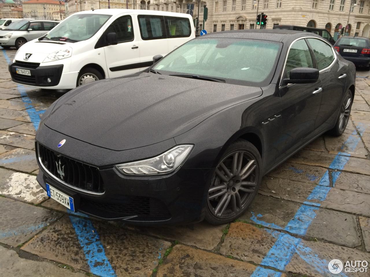 Maserati Ghibli 2013 11 febbraio 2014 Autogespot