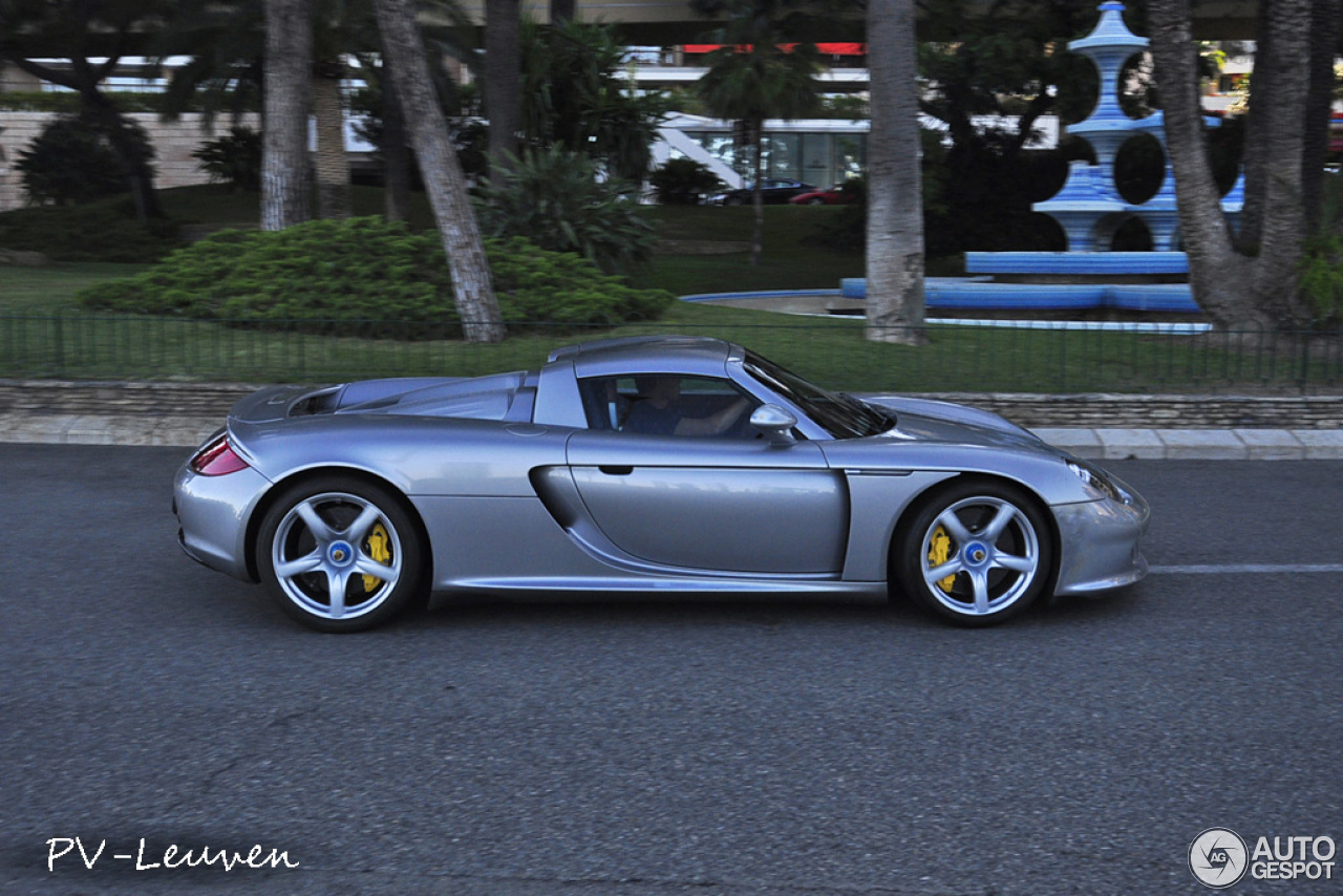 porsche carrera gt 11 fvrier 2014 autogespot. Black Bedroom Furniture Sets. Home Design Ideas