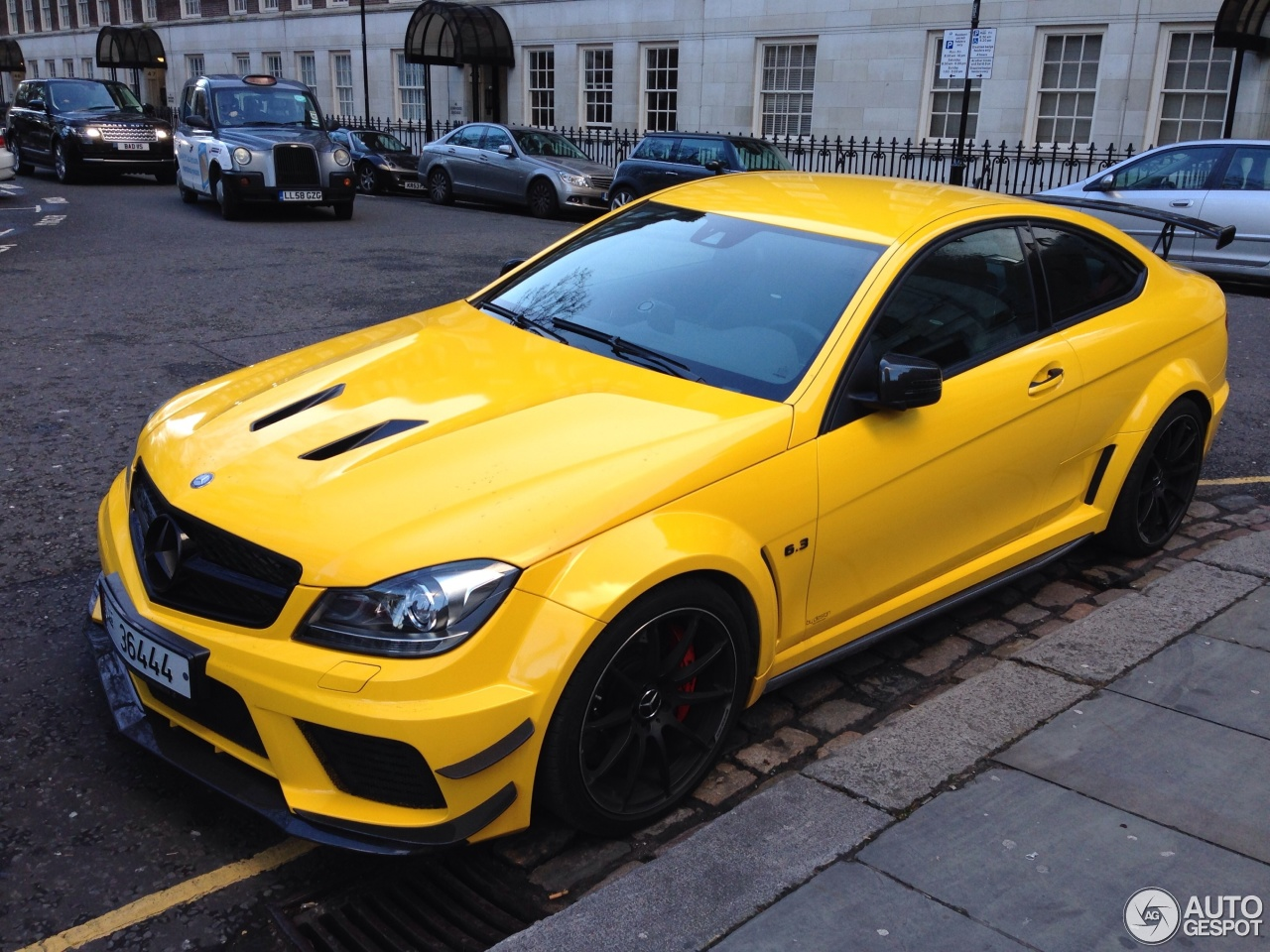 Mercedes Benz C 63 Amg Coup 233 Black Series 12 February