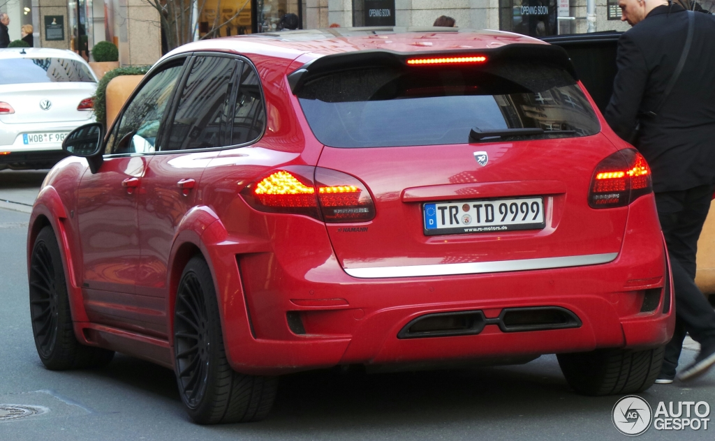 porsche cayenne hamann guardian evo 16 february 2014 autogespot. Black Bedroom Furniture Sets. Home Design Ideas