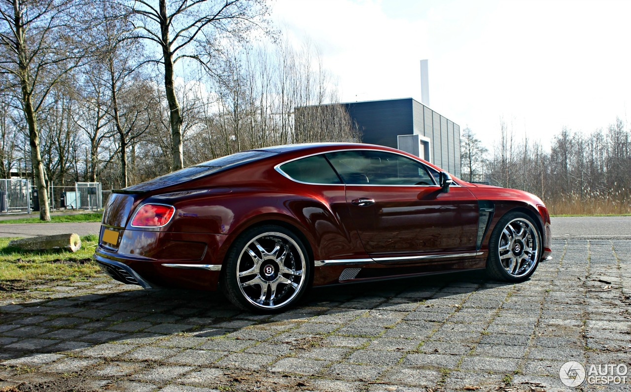 Bentley Mansory Continental Gt 2012 17 February 2014