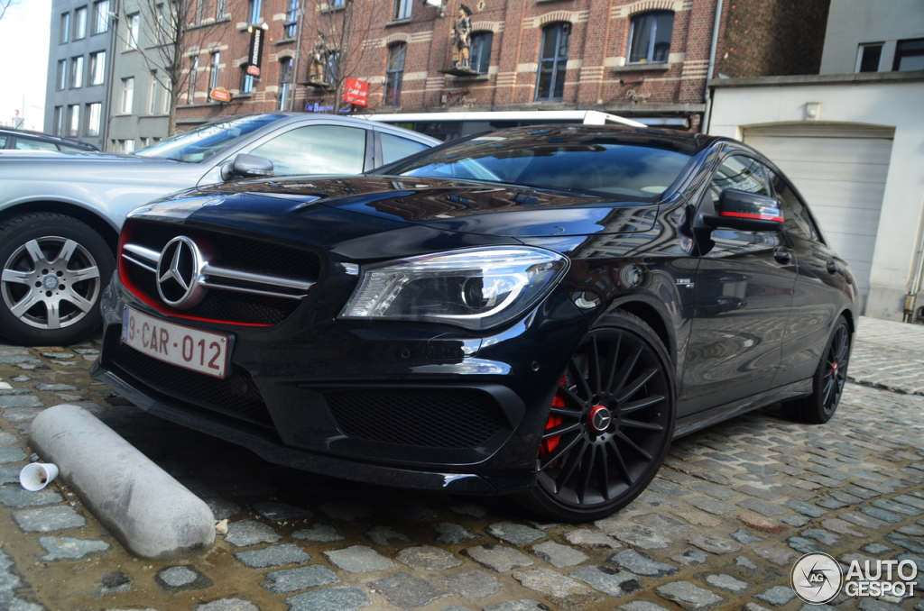 mercedes benz cla 45 amg edition 1 c117 21 fvrier 2014 autogespot. Black Bedroom Furniture Sets. Home Design Ideas