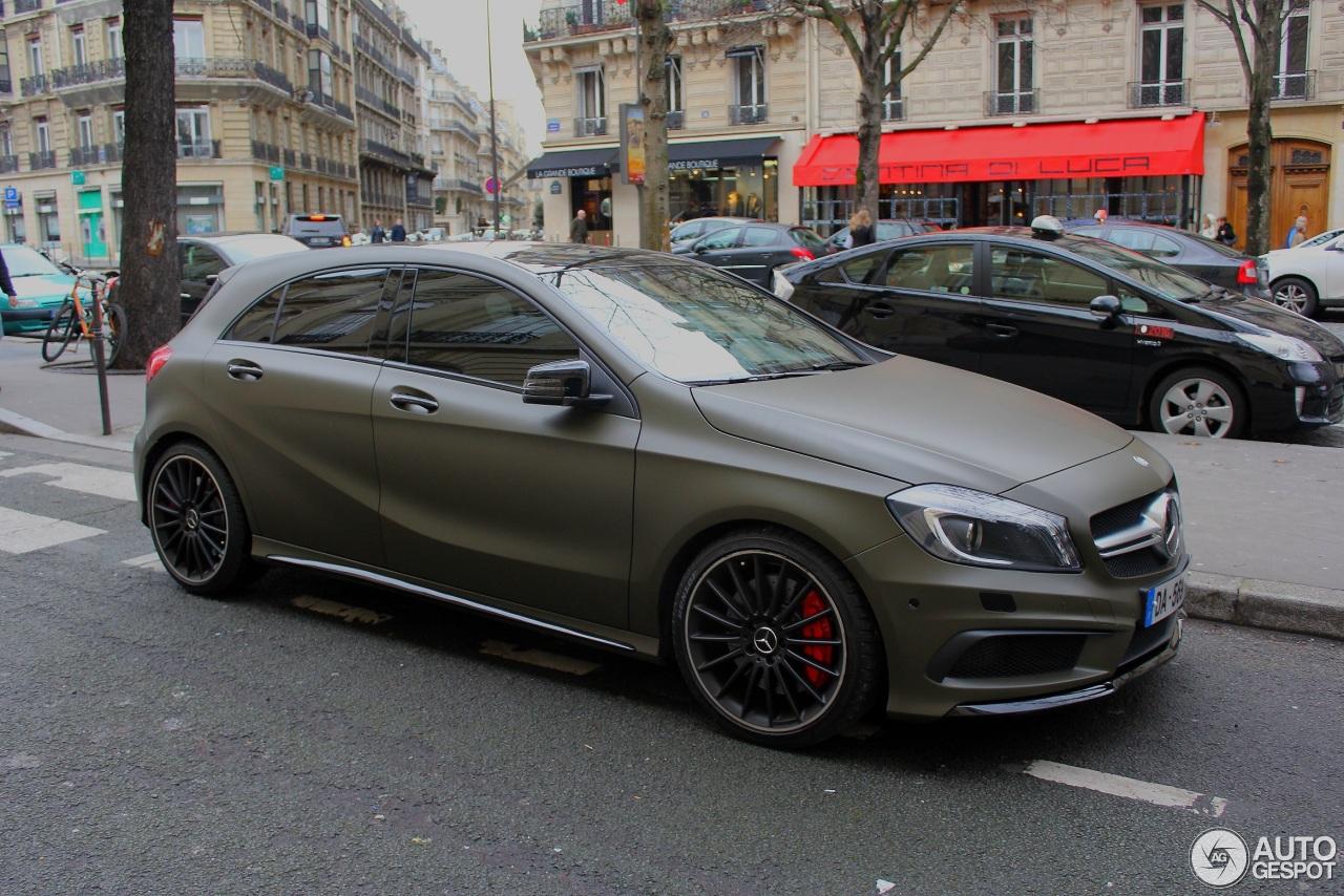 Mercedes Gla Noir Mat