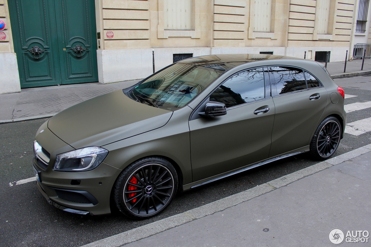 mercedes benz a 45 amg 22 fvrier 2014 autogespot. Black Bedroom Furniture Sets. Home Design Ideas