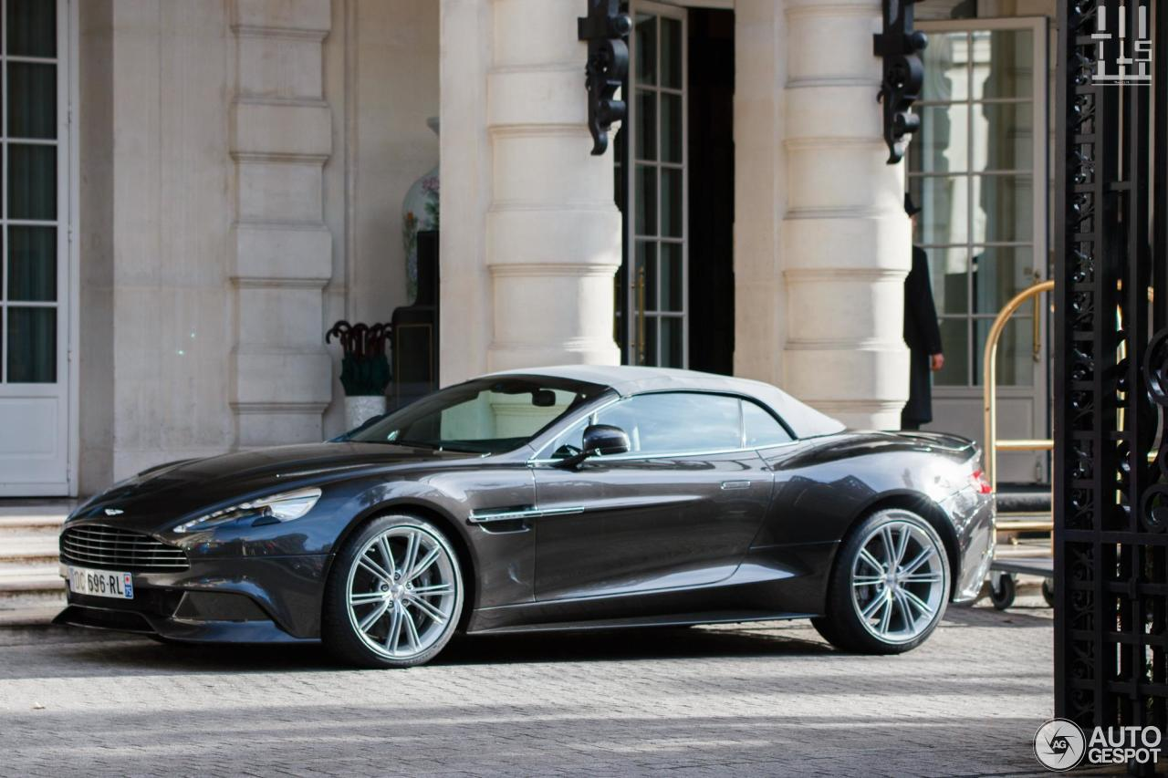 Aston Martin Vanquish Volante 23 February 2014 Autogespot