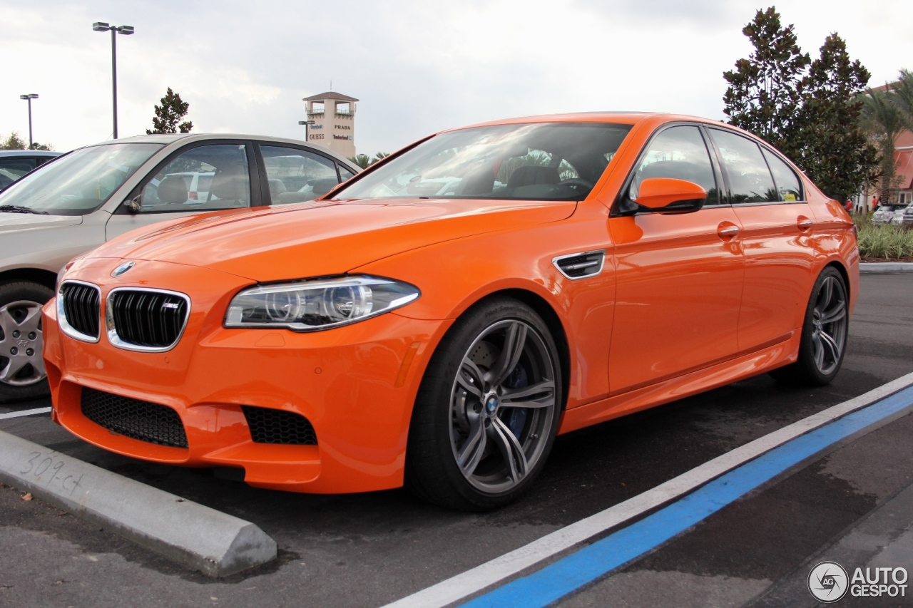 M5 F10 In Fire Orange M5post Bmw M5 Forum