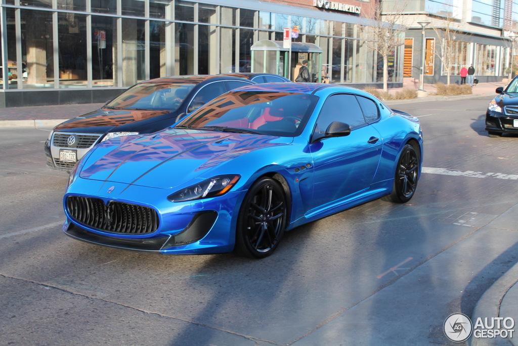 Maserati granturismo blue - photo#17