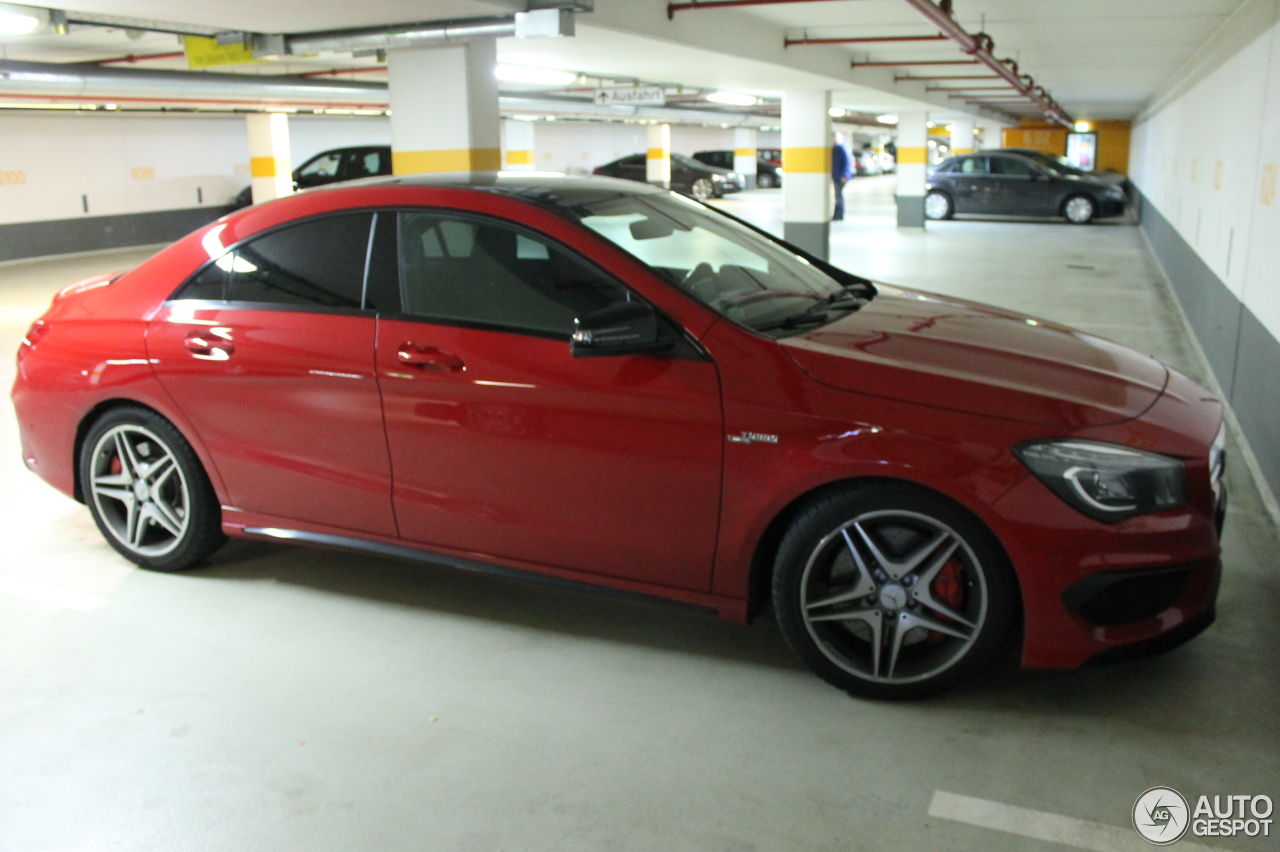 mercedes benz cla 45 amg c117 23 fvrier 2014 autogespot. Black Bedroom Furniture Sets. Home Design Ideas