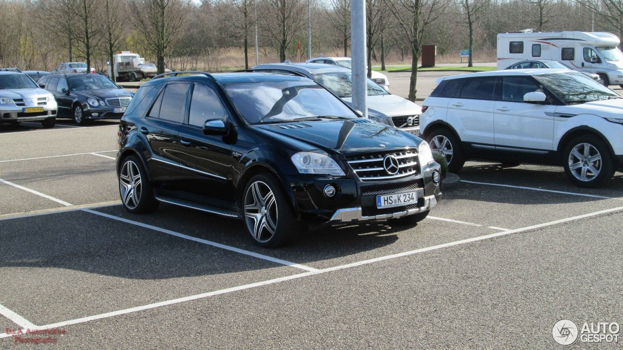 mercedes benz ml 63 amg w164 2009 24 february 2014. Black Bedroom Furniture Sets. Home Design Ideas