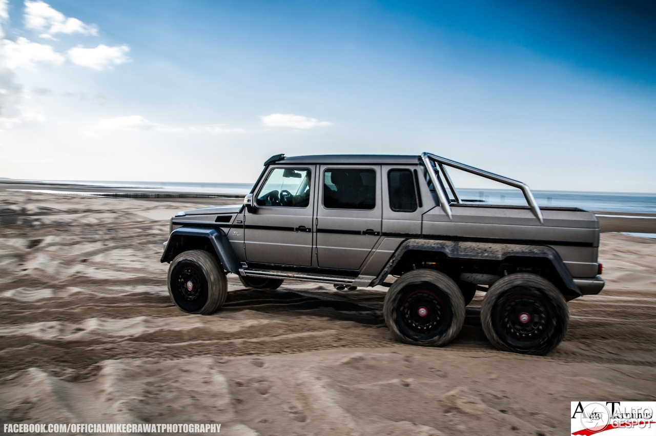 Mercedes benz g 63 amg 6x6 26 february 2014 autogespot for Mercedes benz amg 6x6 price