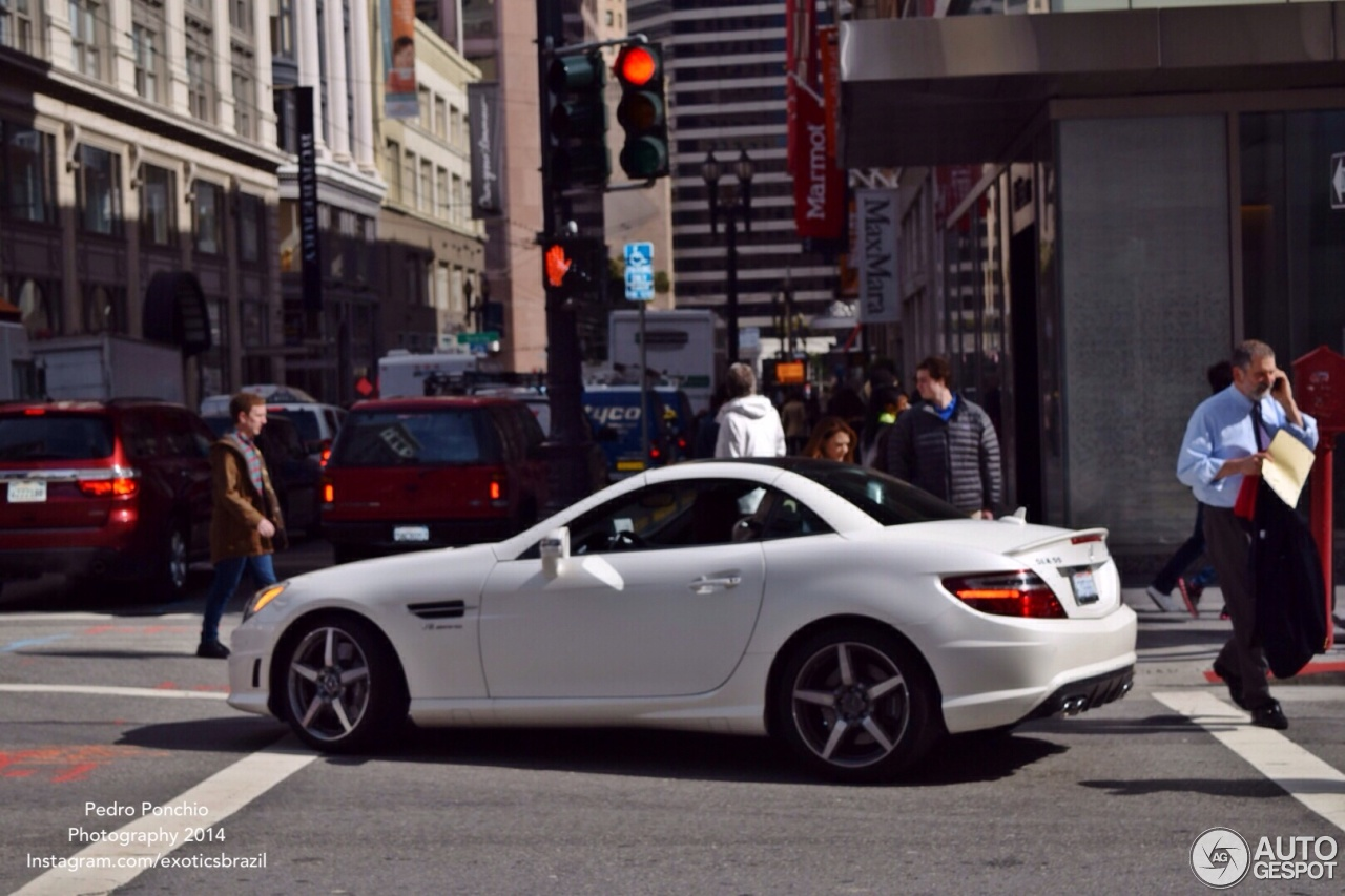 The Driver's Seat: 2014 Mercedes-Benz SLK55 AMG Review