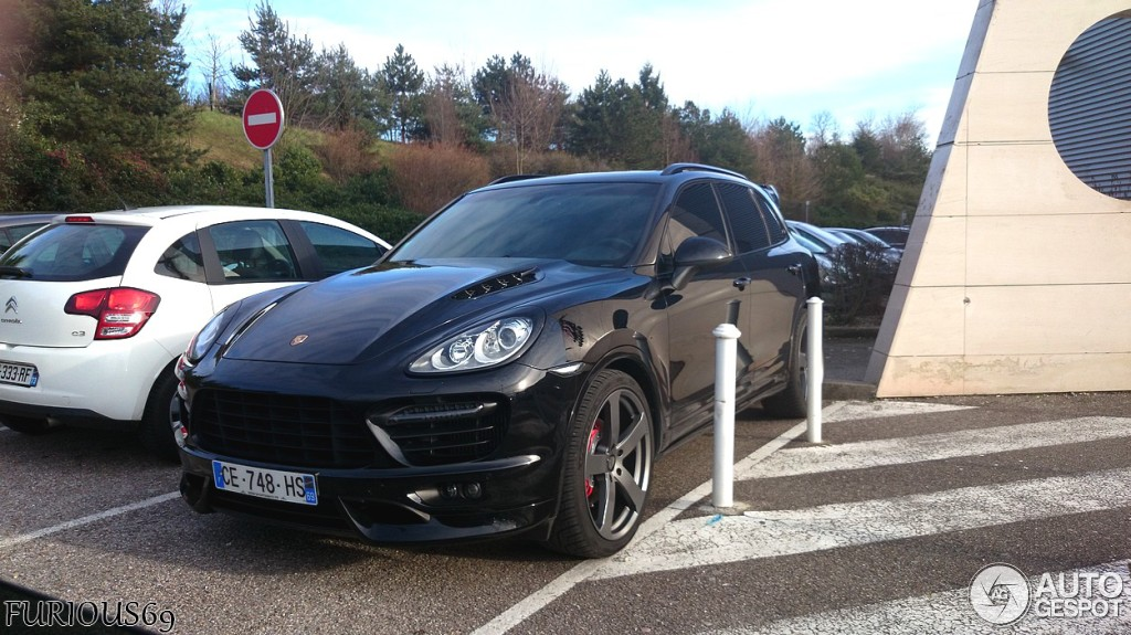 Porsche Cayenne Turbo Techart 2011 26 Fvrier 2014