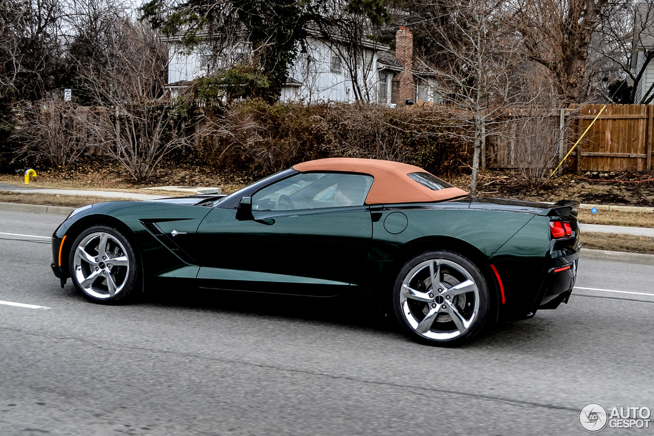 chevrolet corvette c7 stingray convertible 27 february 2014 autogespot. Black Bedroom Furniture Sets. Home Design Ideas