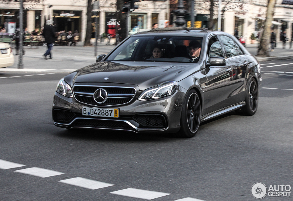 Mercedes Benz E 63 Amg W212 V8 Biturbo 27 February 2014