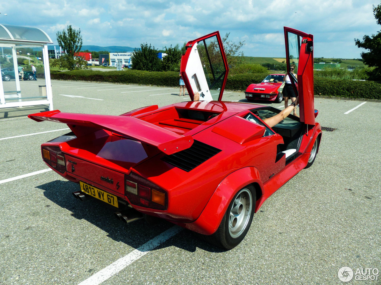 lamborghini countach lp400 s 6 mrz 2014 autogespot. Black Bedroom Furniture Sets. Home Design Ideas