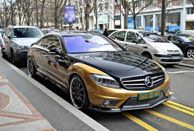 Mercedes-Benz Carlsson Aigner CK65 RS Eau Rouge