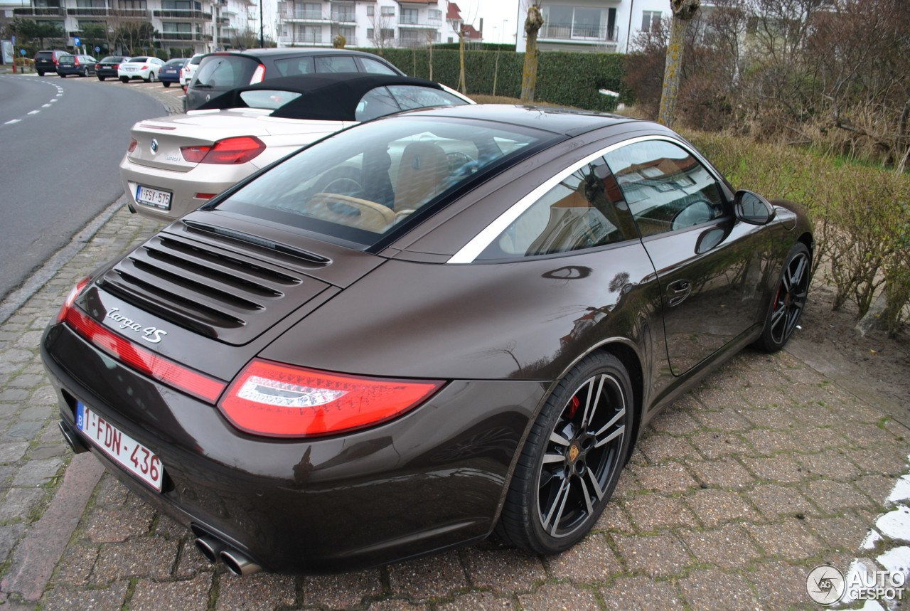 porsche 997 targa 4s mkii 8 maart 2014 autogespot. Black Bedroom Furniture Sets. Home Design Ideas