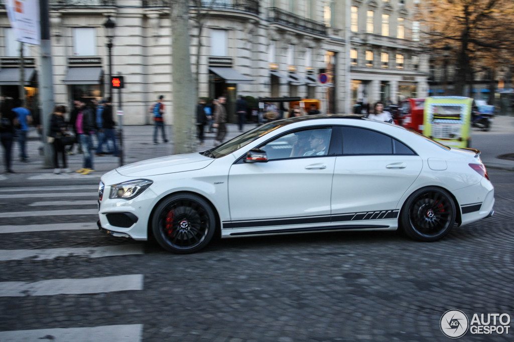 Mercedes Benz Cla 45 Amg Edition 1 C117 10 March 2014