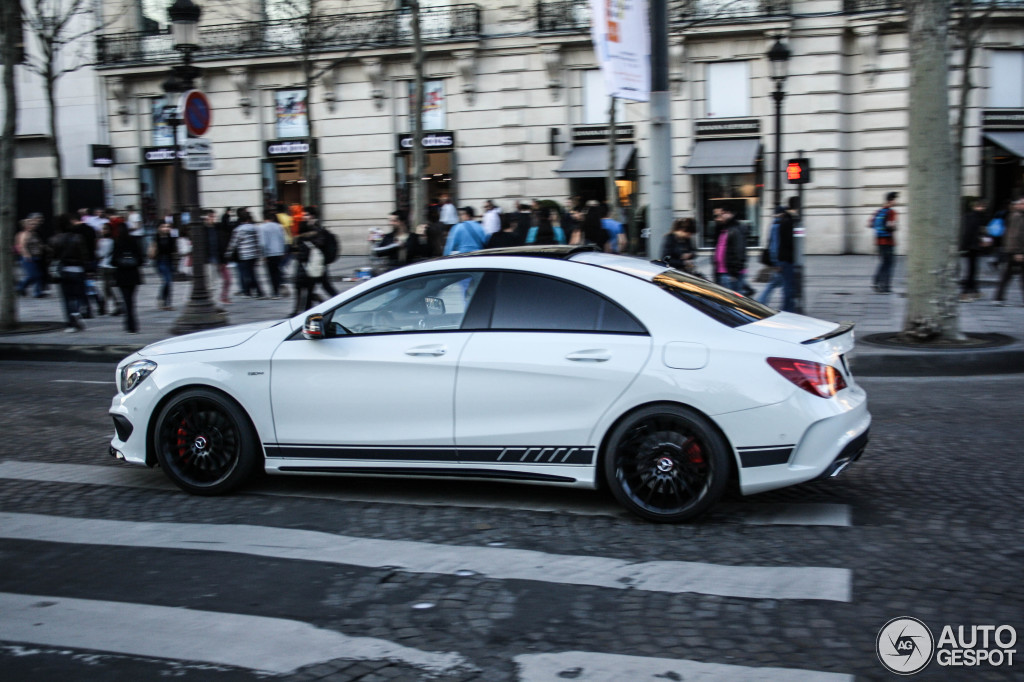 Mercedes benz cla 45 amg edition 1 c117 10 march 2014 for Mercedes benz c45 amg