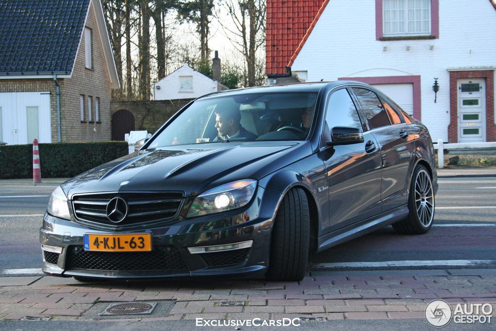 Mercedes Benz C 63 Amg W204 12 Mars 2014 Autogespot