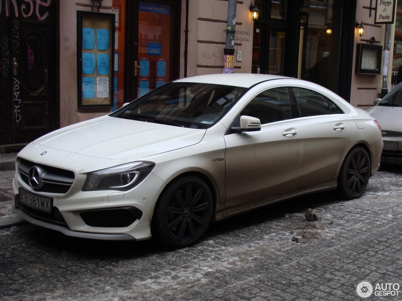 Mercedes benz cla 45 amg c117 12 march 2014 autogespot for Mercedes benz cla for sale uk