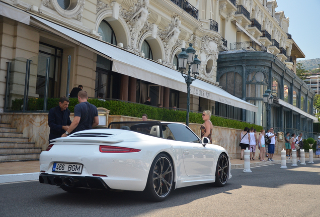 Porsche 991 Techart Carrera S Cabriolet