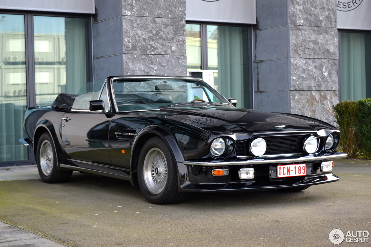 1986 aston martin v8 vantage volante related infomation specifications weili automotive network. Black Bedroom Furniture Sets. Home Design Ideas