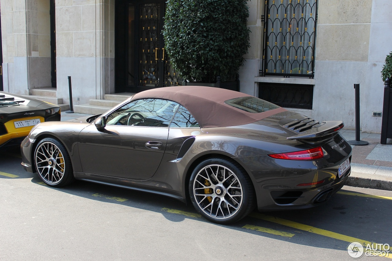 Porsche 991 Turbo S Cabriolet 13 March 2014 Autogespot