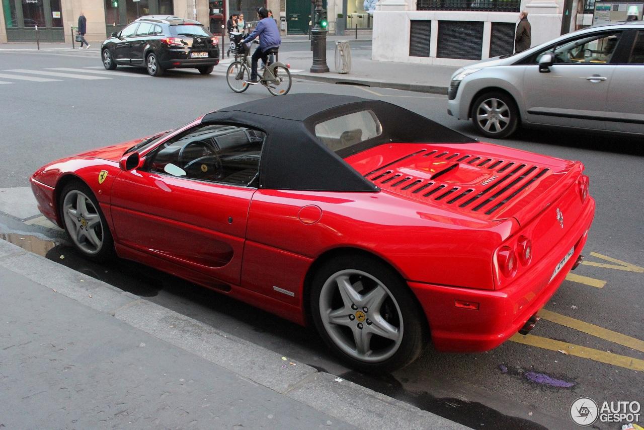 Ferrari F355 Spider 14 March 2014 Autogespot