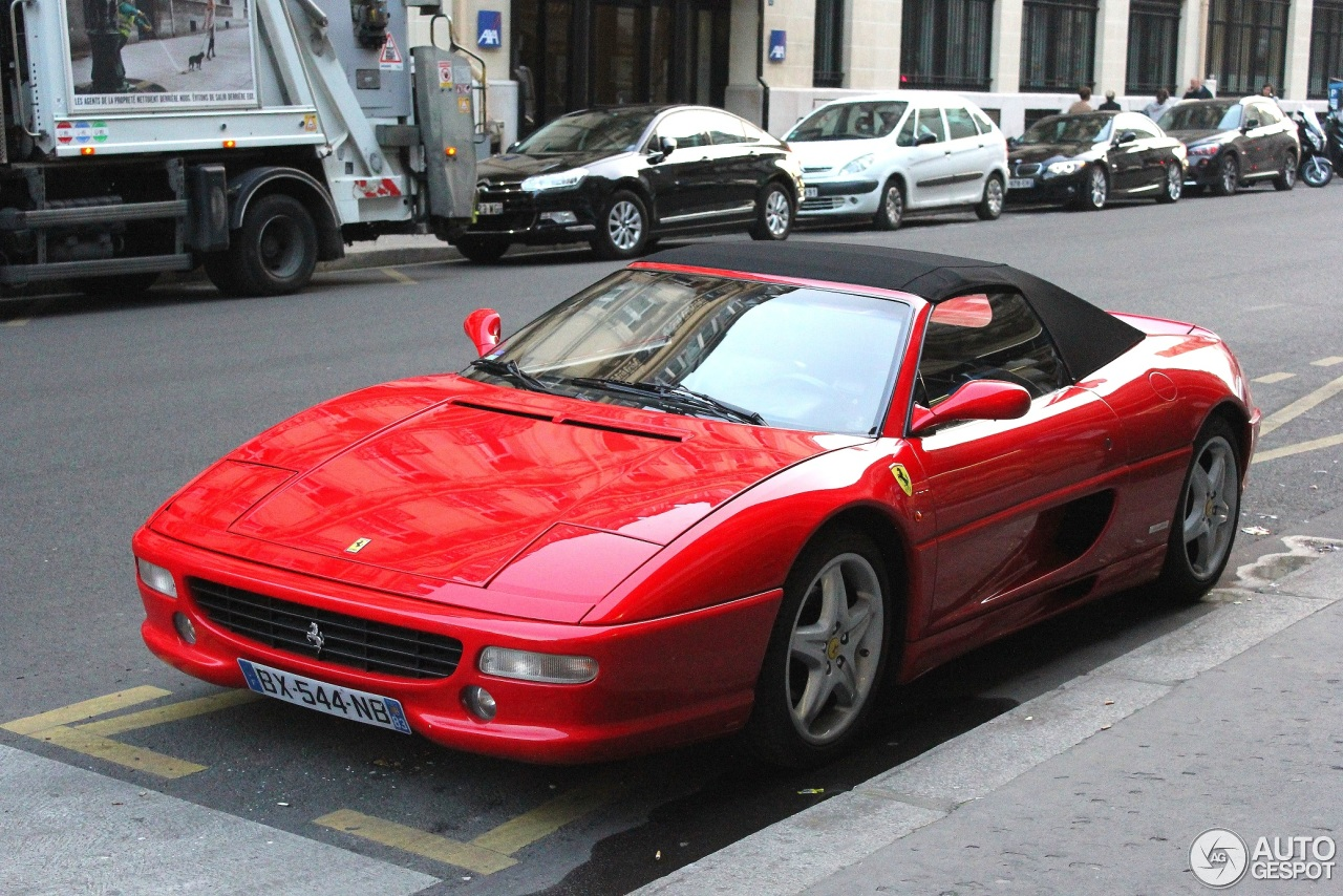 ferrari f355 spider 14 march 2014 autogespot. Black Bedroom Furniture Sets. Home Design Ideas