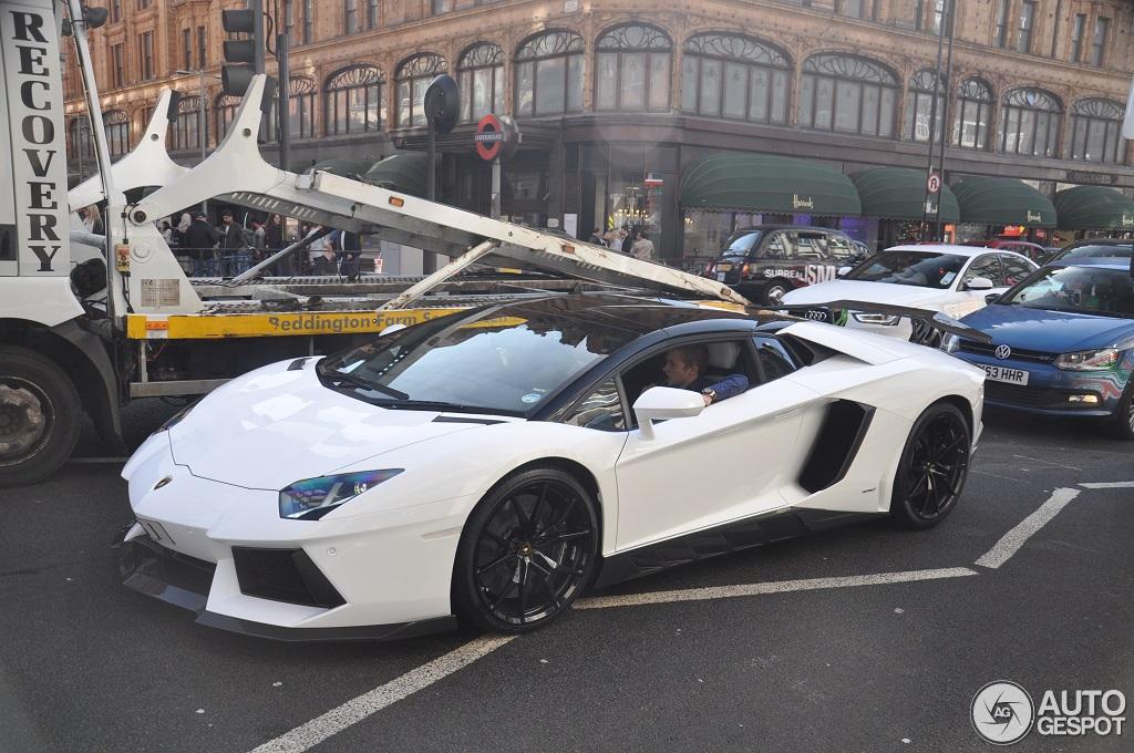 2 i lamborghini aventador lp700 4 roadster projex design 2 - Lamborghini Aventador Roadster White
