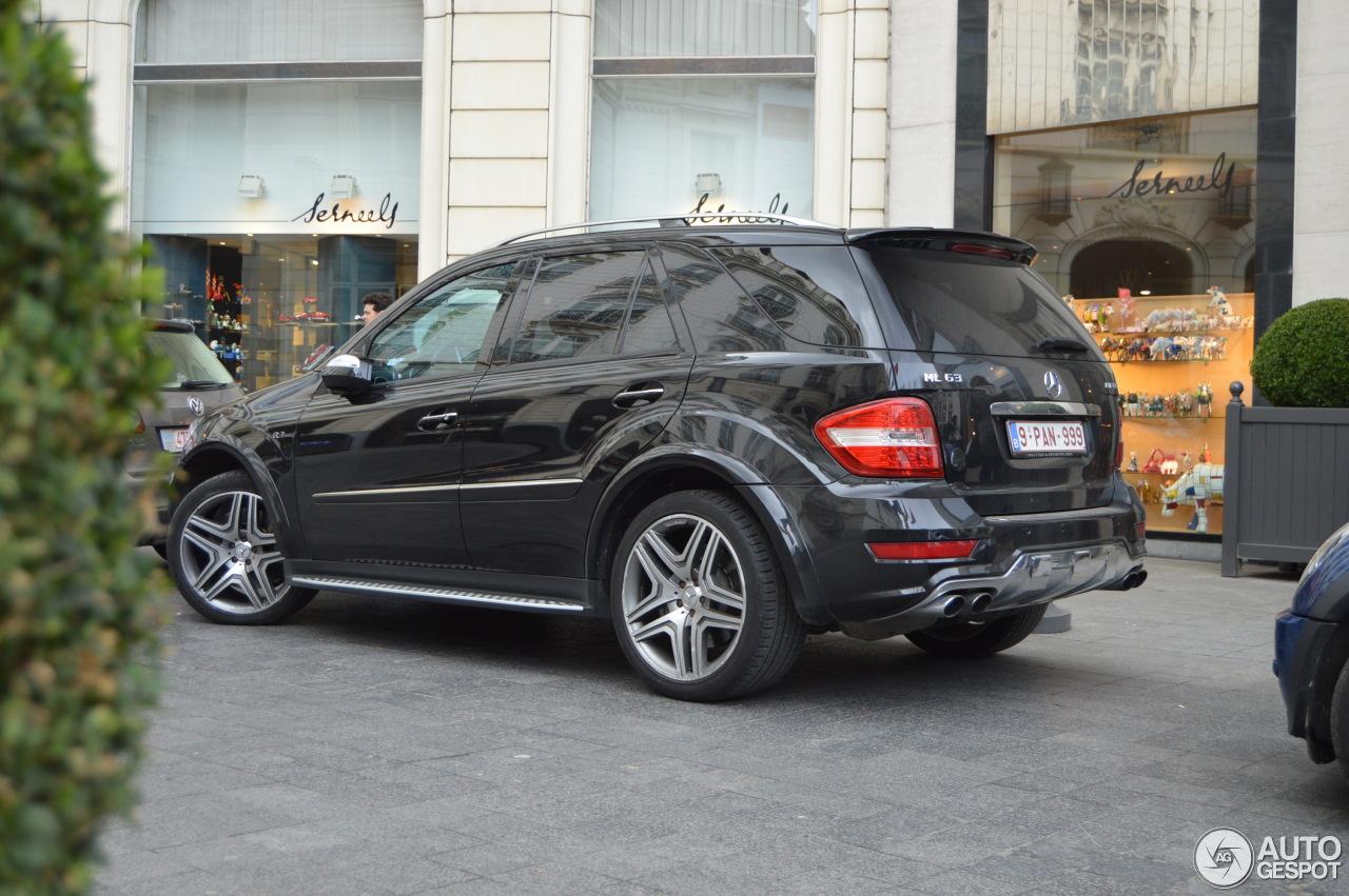 Mercedes benz ml 63 amg w164 2009 15 mrz 2014 autogespot for Mercedes benz w164