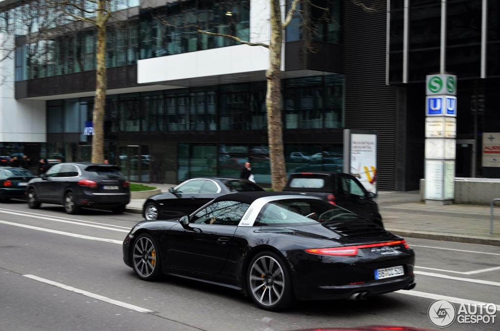 Porsche 991 Targa 4s 19 March 2014 Autogespot