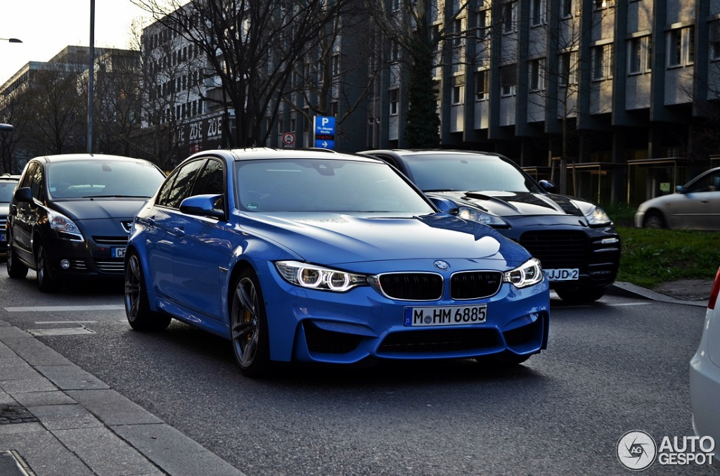 bmw m3 f80 sedan 2014 20 mrz 2014 autogespot. Black Bedroom Furniture Sets. Home Design Ideas