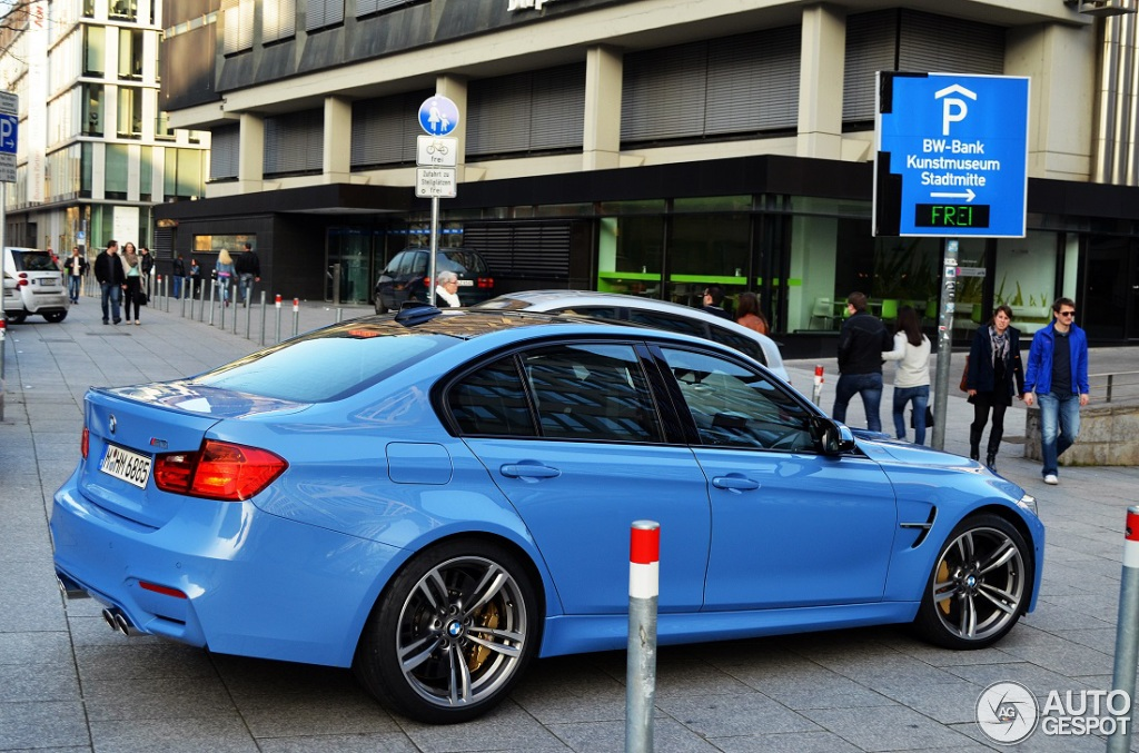 Bmw M3 F80 Sedan 2014 20 Mars 2014 Autogespot