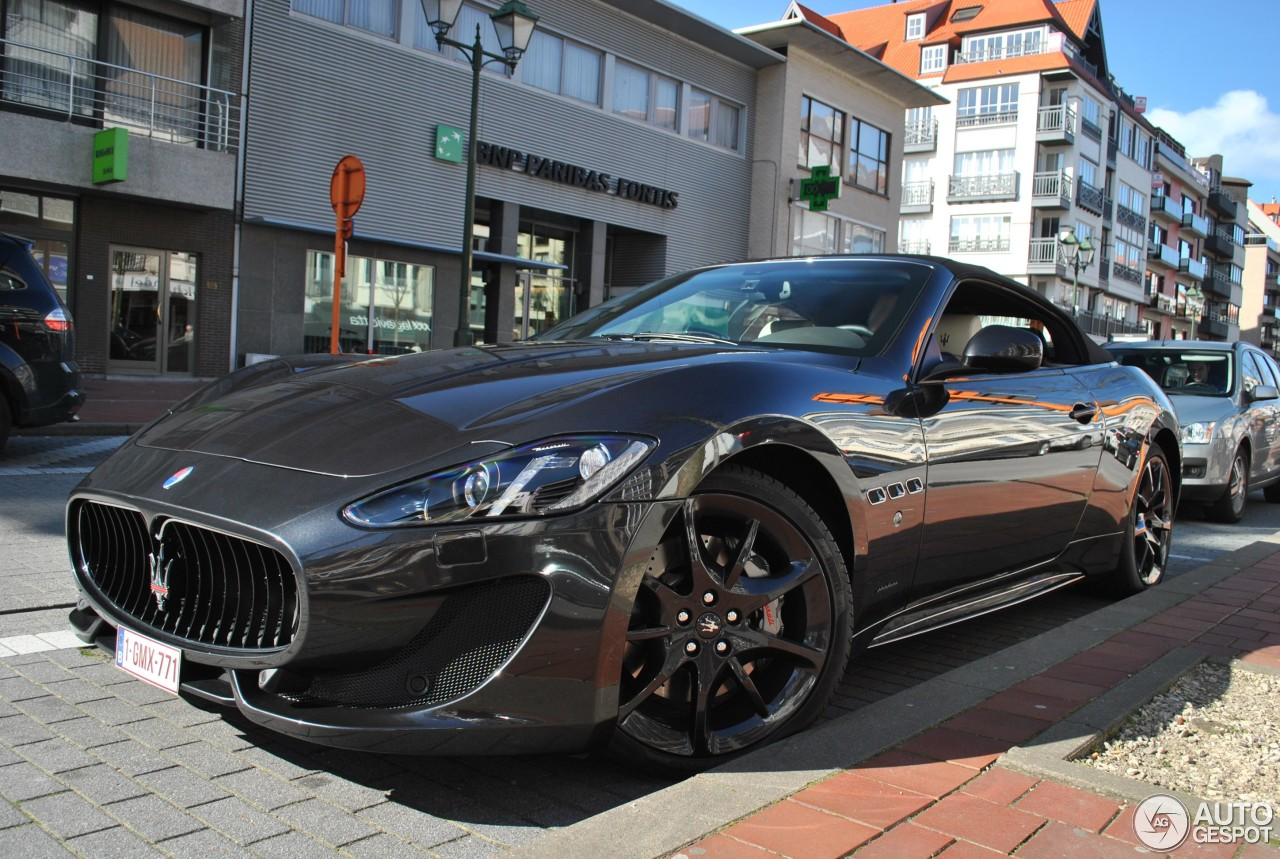 maserati grancabrio sport 2013 23 march 2014 autogespot. Black Bedroom Furniture Sets. Home Design Ideas