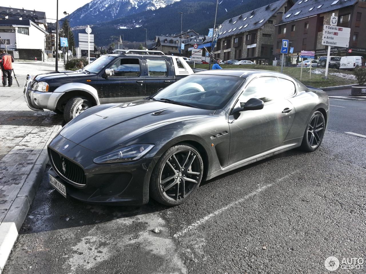 Maserati Granturismo Mc Stradale 24 March 2014 Autogespot