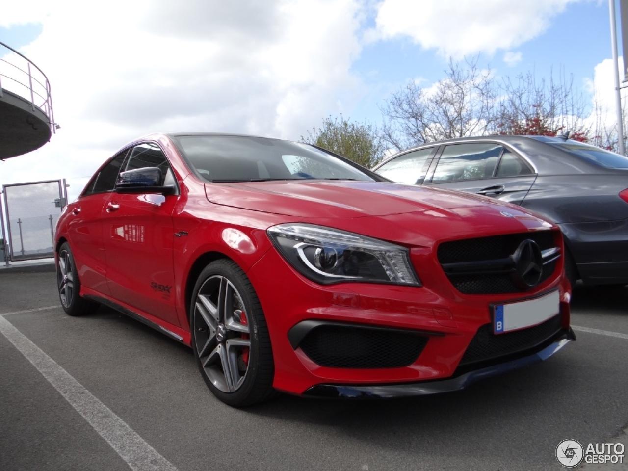 Mercedes benz cla 45 amg c117 24 march 2014 autogespot for 2014 mercedes benz cla 45