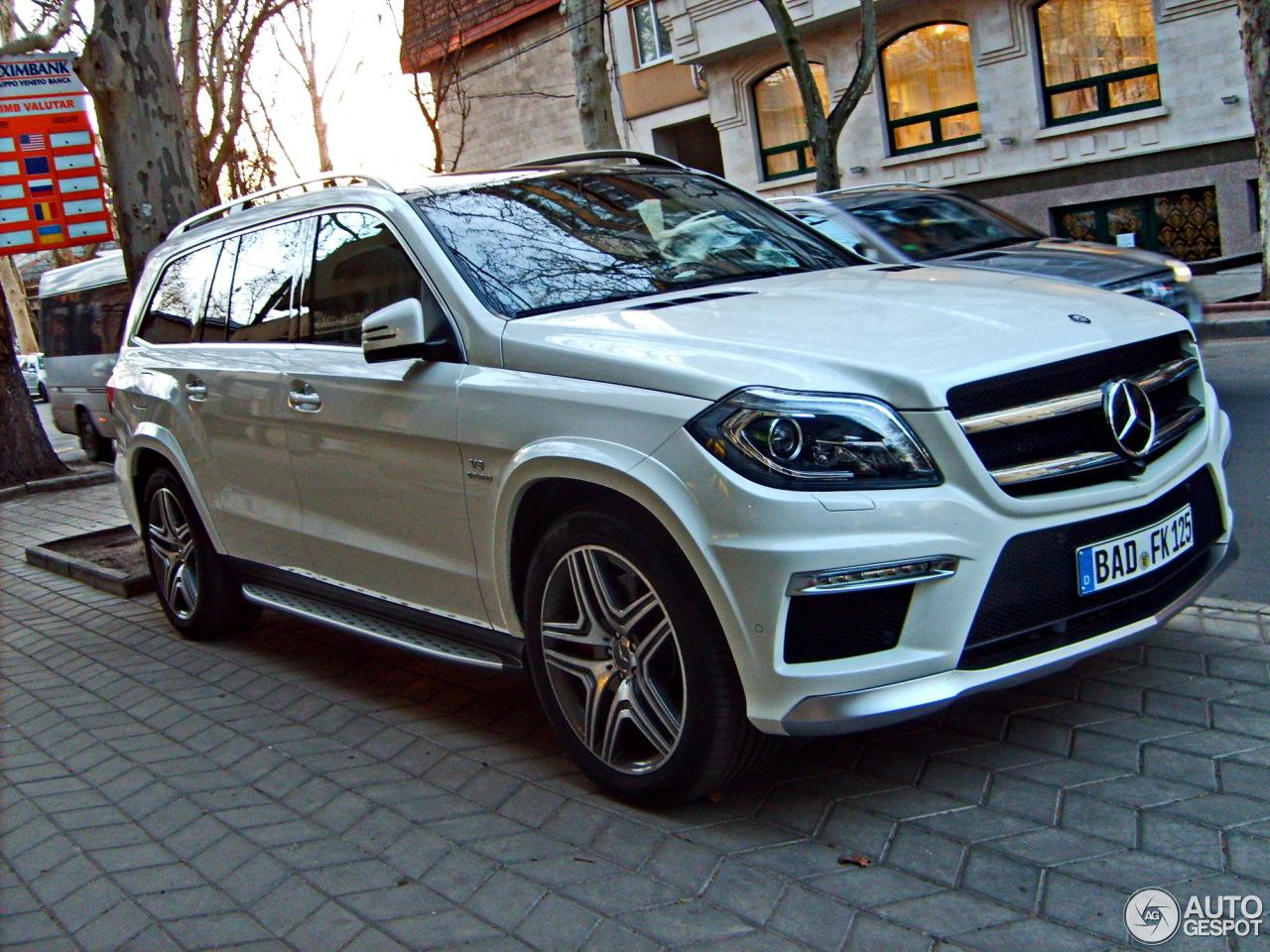 Mercedes benz gl 63 amg x166 25 march 2014 autogespot for Mercedes benz gls 2014