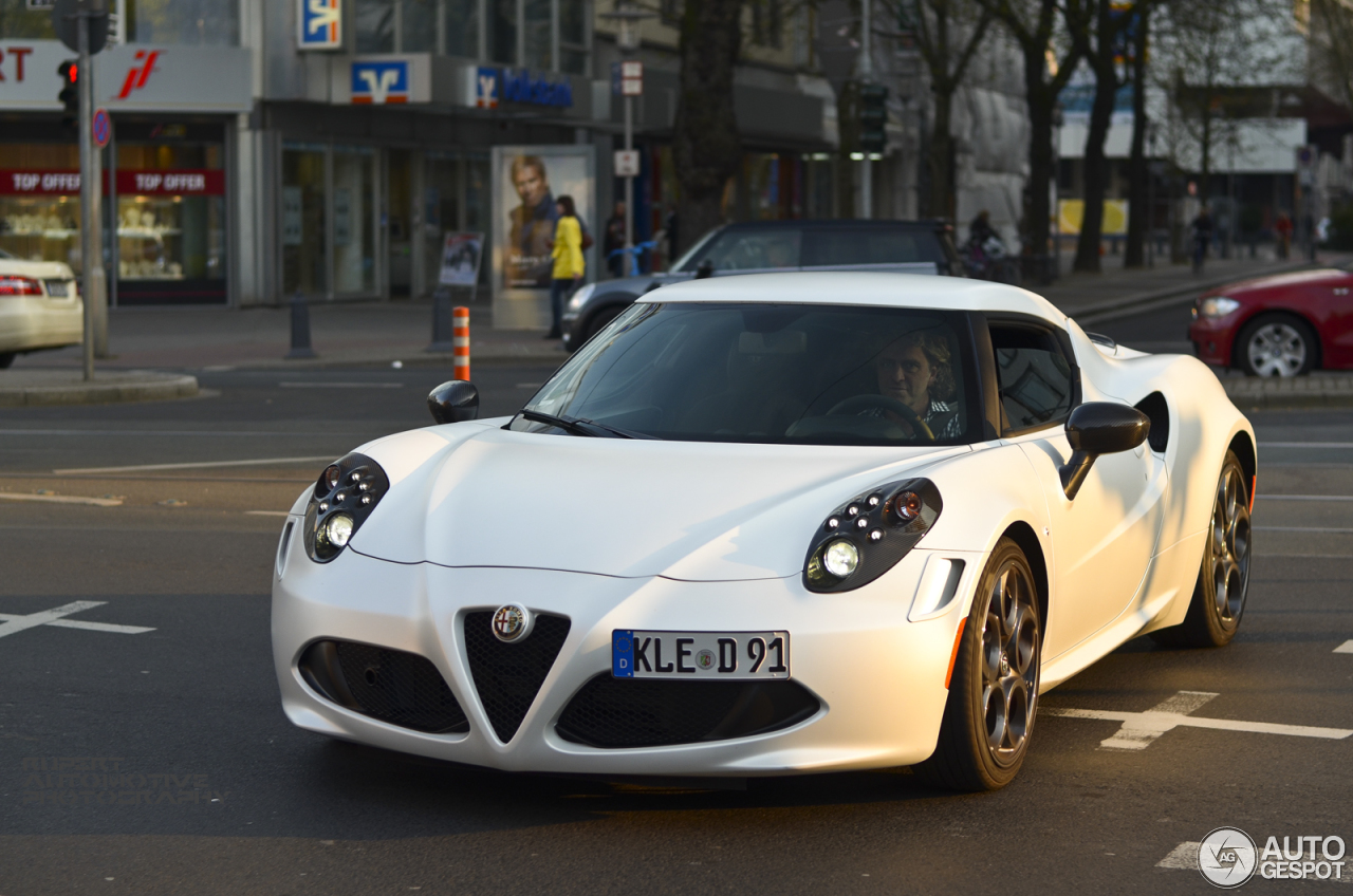 alfa romeo 4c launch edition 27 march 2014 autogespot. Black Bedroom Furniture Sets. Home Design Ideas