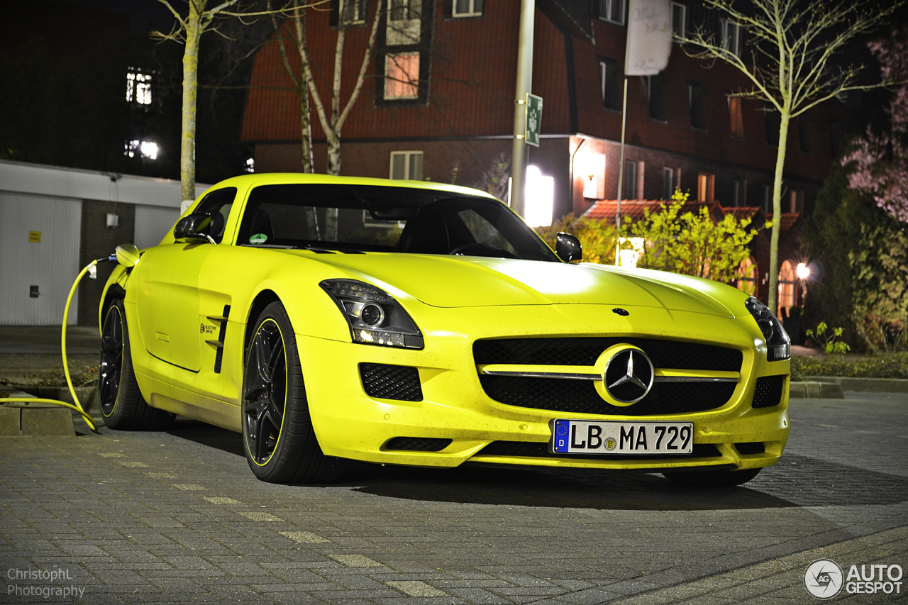 mercedes benz sls amg electric drive 28 mrz 2014