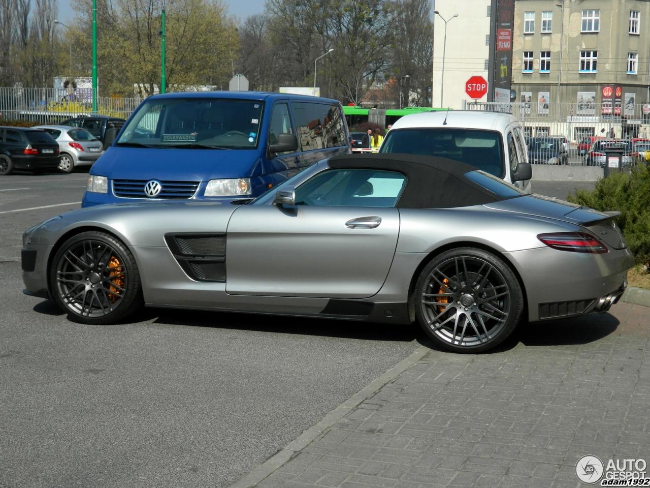 Mercedes Benz Brabus Sls Amg Roadster 29 March 2014