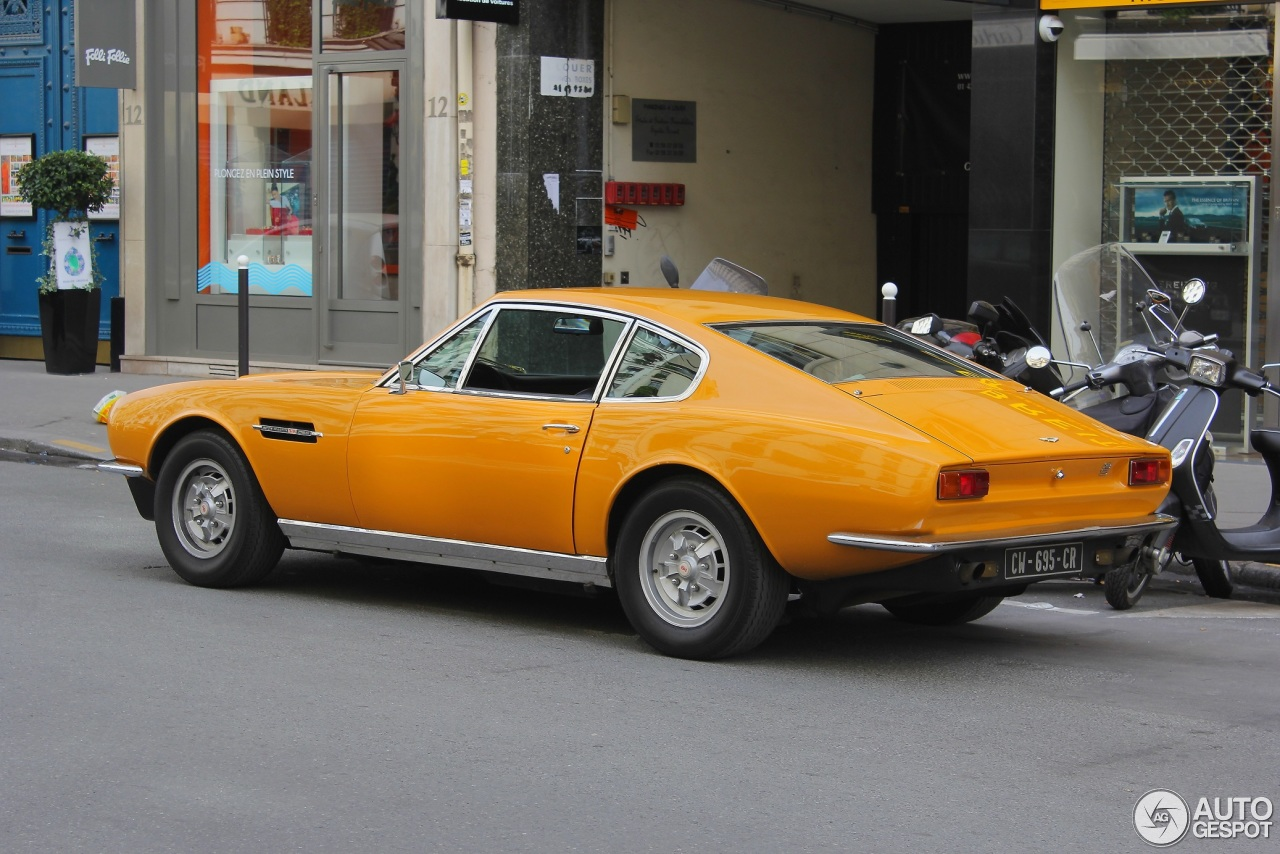 Aston Martin Dbs V8 1969 1972 30 March 2014 Autogespot