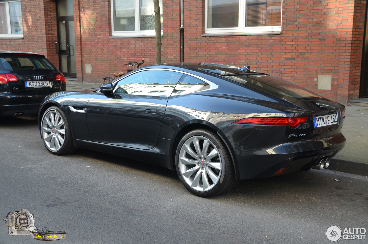 jaguar f type s coup 30 march 2014 autogespot. Black Bedroom Furniture Sets. Home Design Ideas