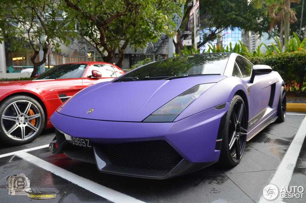 Lamborghini Gallardo Superleggera - 30 March 2014 - Auspot on purple lamborghini spyder, purple lamborghini car, purple lamborghini murcielago, purple lamborghini sv, purple lamborghini gallardo, purple lamborghini diablo, purple lamborghini roadster, purple lamborghini reventon, purple lamborghini aventador,