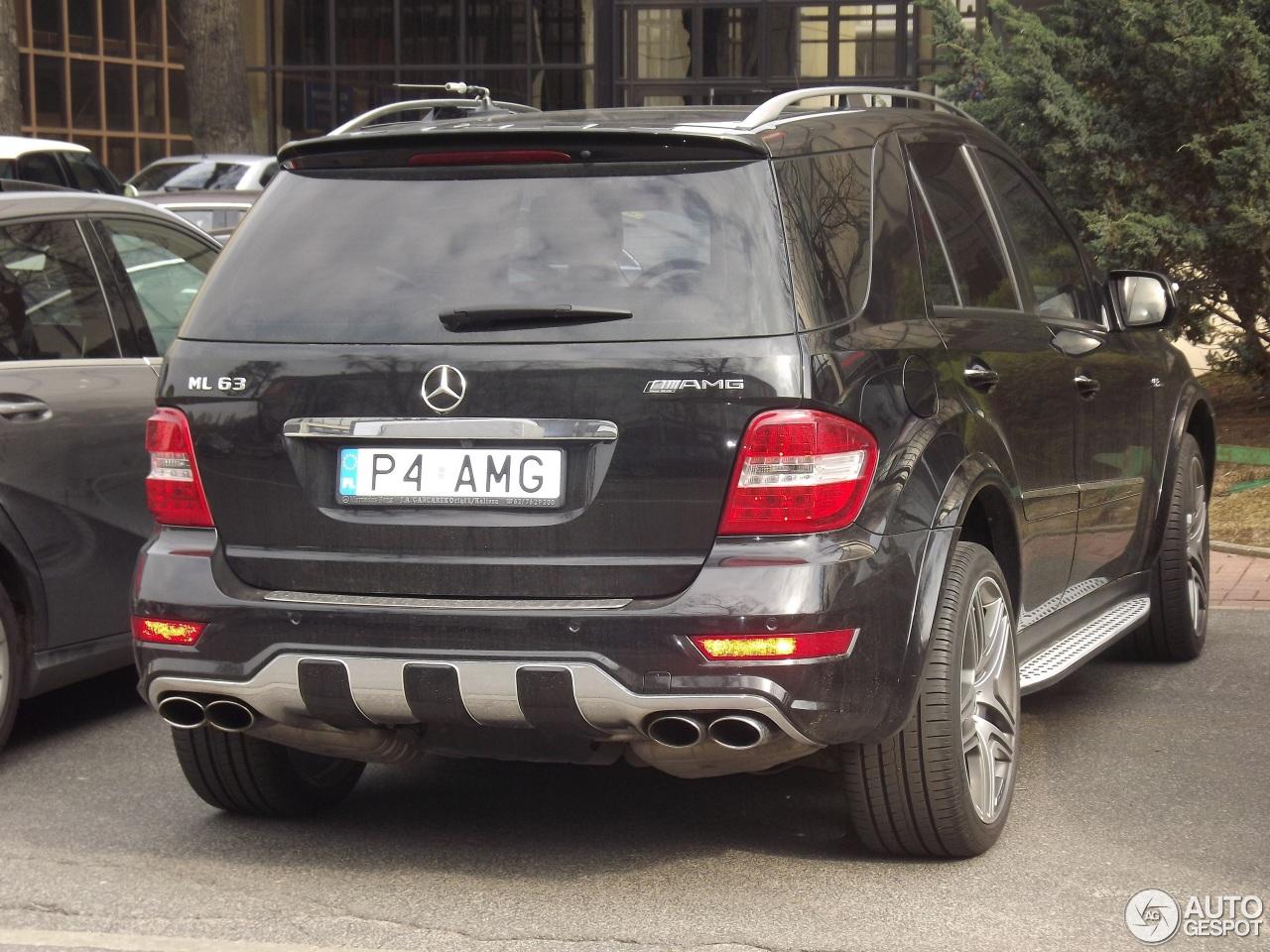 Mercedes benz ml 63 amg w164 2009 30 2014 autogespot for Mercedes benz w164