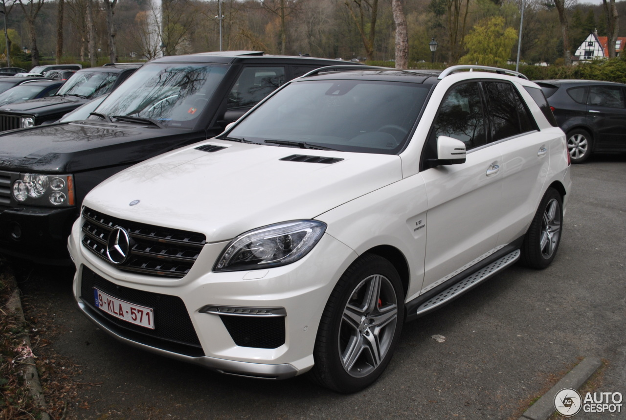 mercedes benz ml 63 amg w166 30 march 2014 autogespot. Black Bedroom Furniture Sets. Home Design Ideas