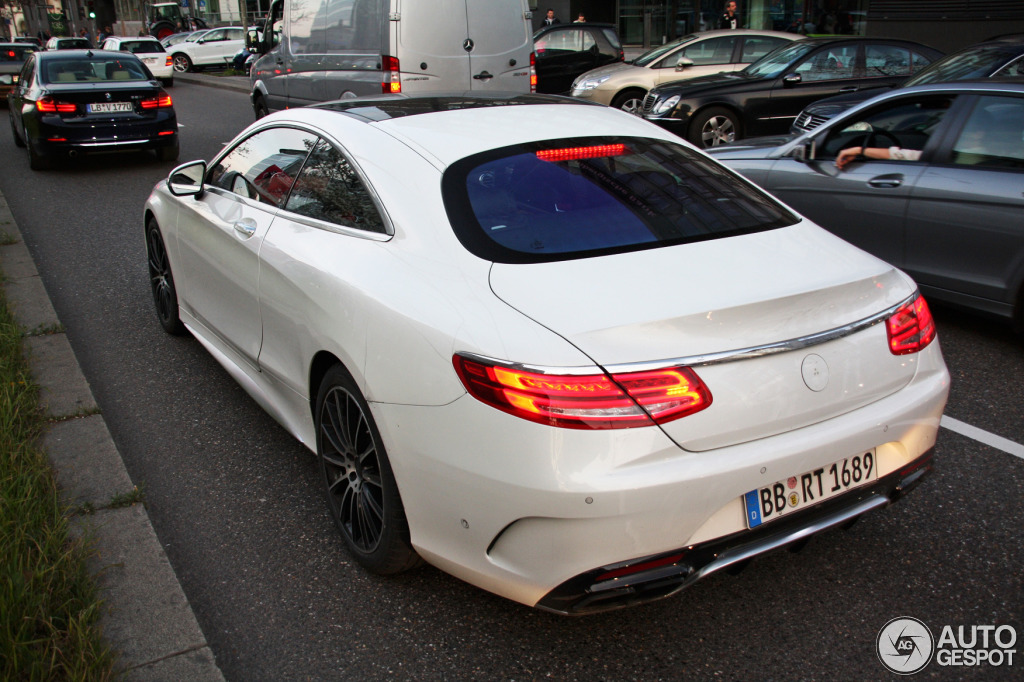 Mercedes benz s 63 amg coup c217 30 march 2014 autogespot for Mercedes benz s coupe 2014