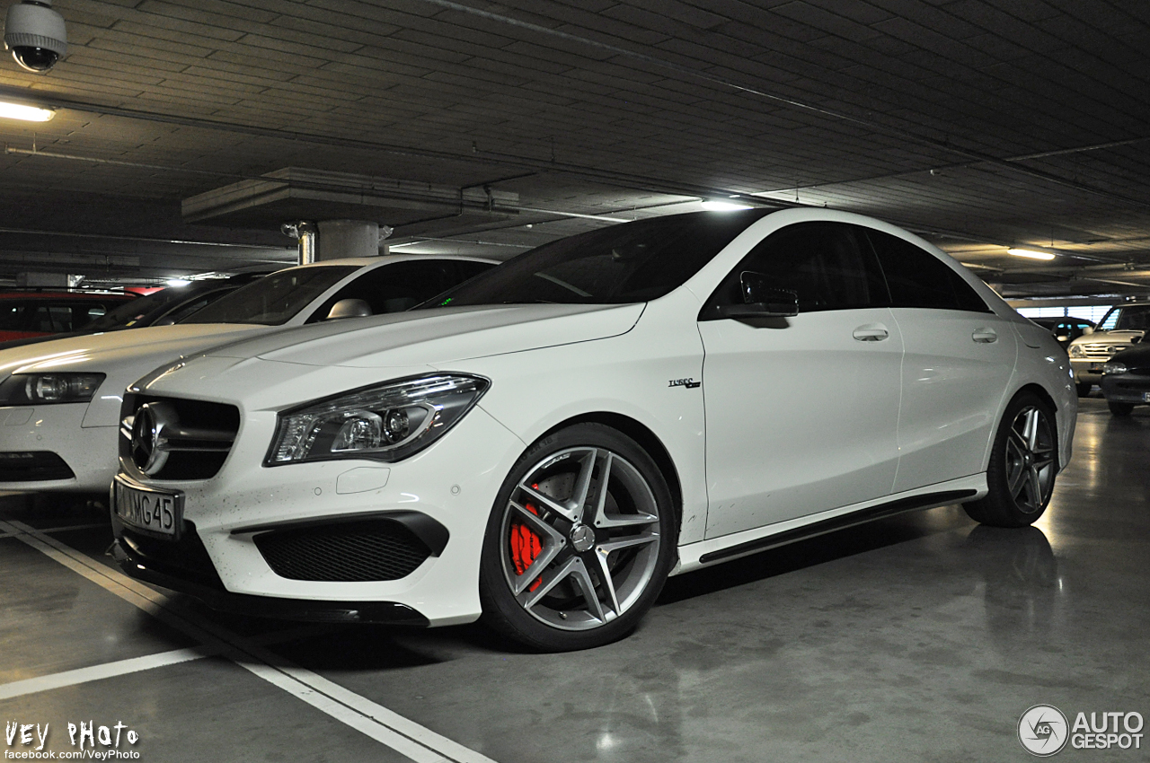 mercedes benz cla 45 amg c117 31 march 2014 autogespot. Black Bedroom Furniture Sets. Home Design Ideas