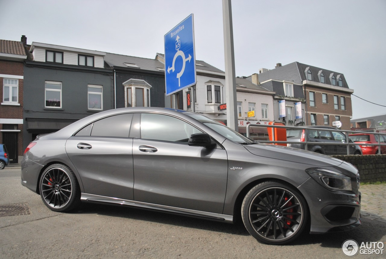 Mercedes Benz Cla 45 Amg C117 2 April 2014 Autogespot